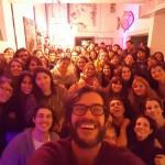 Estudiantes de Humanidades asistieron al Teatro Espacio Callejón