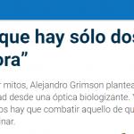 Entrevista a Alejandro Grimson en <i>La Gaceta</i> de Tucumán