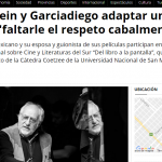 <i>Télam</i> entrevistó a Arturo Ripstein y a Paz Alicia Garciadiego