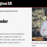 Entrevista a Giulio Tononi en <i>Página/12</i>