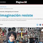 Entrevista a Luisa Valenzuela en <i>Página/12</i>
