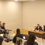 El sociólogo Marc Bessin ofreció una conferencia en el Campus Miguelte