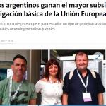 Nota en <i>La Nación</i> sobre el subsidio otorgado por la UE a investigadores de la UNSAM