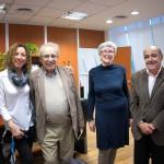 Investigadores israelíes visitaron la UNSAM