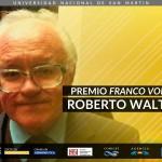 Premio Franco Volpi a Roberto Walton