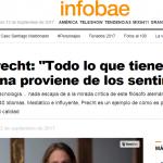 <i>Infobae</i> entrevistó a Richard Precht