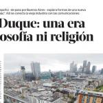Entrevista a Félix Duque en <i>Revista Ñ</i>
