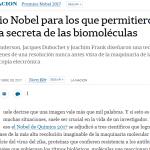 Investigadores de la UNSAM consultados por <i>La Nación</i> sobre el nuevo Nobel de Química