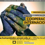 Inscripciones abiertas para los posgrados en Cooperación Internacional