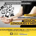 Posgrados en Educación: Inscripciones 2018