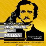 Abierta la inscripción para la Licenciatura en Lengua Inglesa
