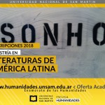 Maestría en Literaturas de América Latina: Inscripción 2018