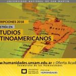 Maestría en Estudios Latinoamericanos: Inscripción 2018