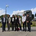 Una delegación de la Universidad de Shanghai visitó el Campus Miguelete