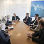 Autoridades de la UNSAM se reunieron con el ministro Lino Barañao