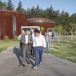 El ministro de Educación bonaerense recorrió el Campus Miguelete