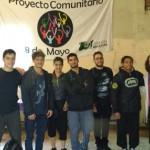 El Instituto de Artes Mauricio Kagel en el festejo por los veinte años del Comedor 8 de Mayo