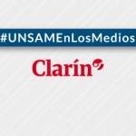 Nota en <i>Clarín</i> a Ricardo Ramos sobre su trabajo para combatir el cáncer con energía nuclear