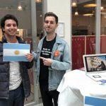 Un estudiante internacional promociona la UNSAM en Suecia