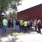 Se realizó un simulacro de evacuación en el Edificio del 3iA