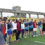 El equipo de rugby de la UNSAM se enfrentó con Los Espartanos en la Unidad Penal N.º 48
