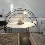 Estudiantes del Instituto de Arquitectura construyeron un heliodón