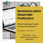 Seminario CENIT sobre Desarrollo Productivo