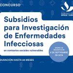 Subsidios para investigación de enfermedades infecciosas y vulnerabilidad social