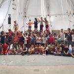 Un taller de circo para alumnos y alumnas de escuelas primarias de CABA