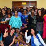 Investigadoras del IDAES en un encuentro sobre género y cambio climático en Kenia