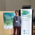 Lucas Christel en un encuentro internacional sobre biodiversidad y desarrollo sustentable