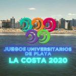 """La UNSAM en los Juegos Universitarios de Playa """"La costa 2020"""""""