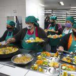 Mercados, comedores y universidad: el camino de la alimentación saludable