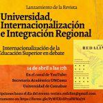 """Presentación de la Revista REDALINT: """"Universidad, Internacionalización e Integración Regional """""""