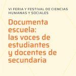 Primera reunión de la 6ª Feria de Ciencias Humanas y Sociales 2021