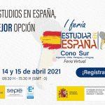 """I FERIA VIRTUAL """"ESTUDIAR EN ESPAÑA"""" EN AMÉRICA CONO SUR"""