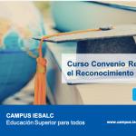 CURSO EN LÍNEA PROMUEVE EL NUEVO CONVENIO REGIONAL DE LA UNESCO PARA EL RECONOCIMIENTO DE ESTUDIOS, TÍTULOS Y DIPLOMAS