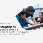 Convocatoria de adscripciones 2021 para el segundo cuatrimestre