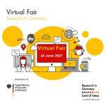 Feria virtual: Investigar en Alemania, 24 de junio 2021