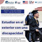 Seminario: Estudiar en el Exterior con una Discapacidad